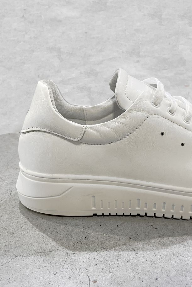 Men's sneaker shoes high sole white. MIL51 19 AR52/BIANCO/BIANCO