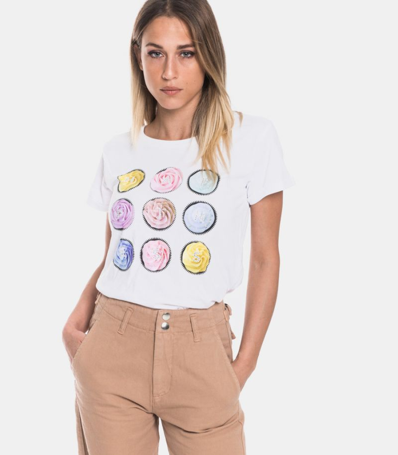Women's t-shirt Candy Meringue