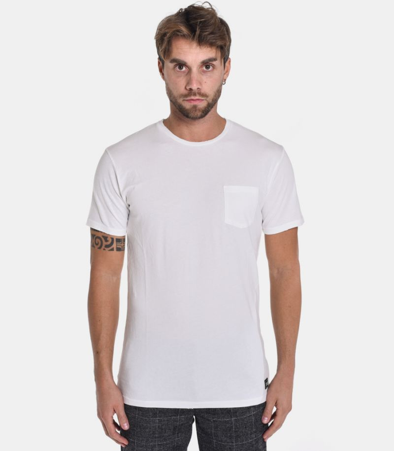 Men's butterfly t-shirt white. 13A20BUTTER128