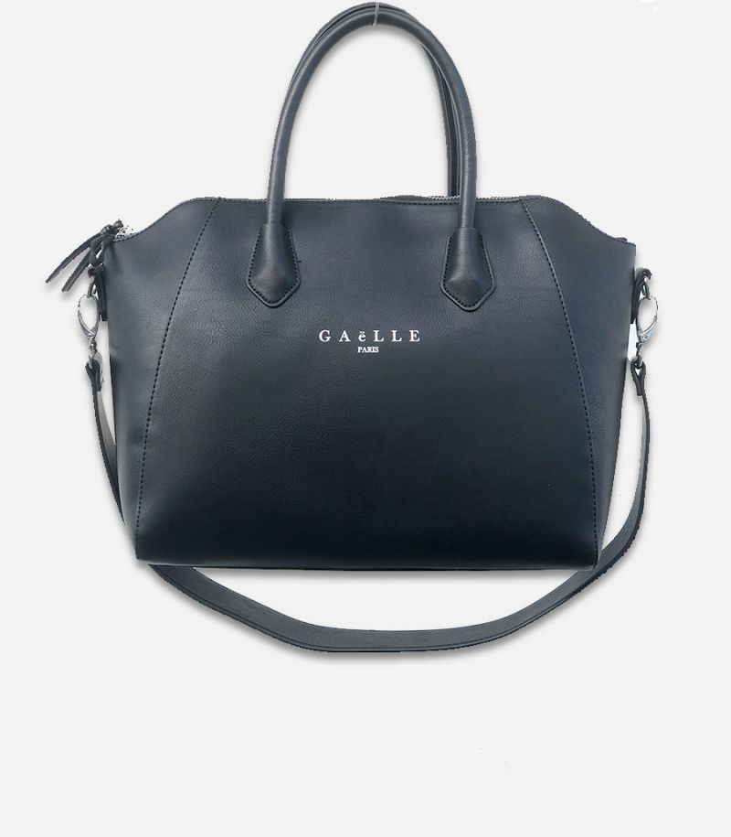 Women's bag with logo black. GBDA1852