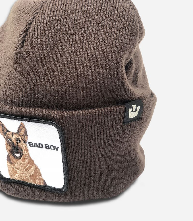 Unisex's knitted hat Bad Boy coffee. GOO BAD BOY 107-0208
