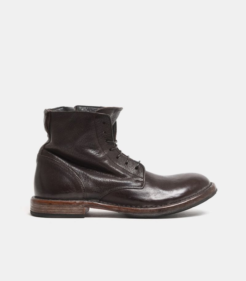 Men's high ankle boot brown. 2CW022-CU