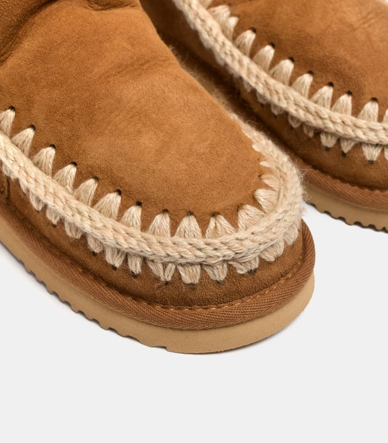 Women's shoe Eskimo brown. MU.ESKIMO
