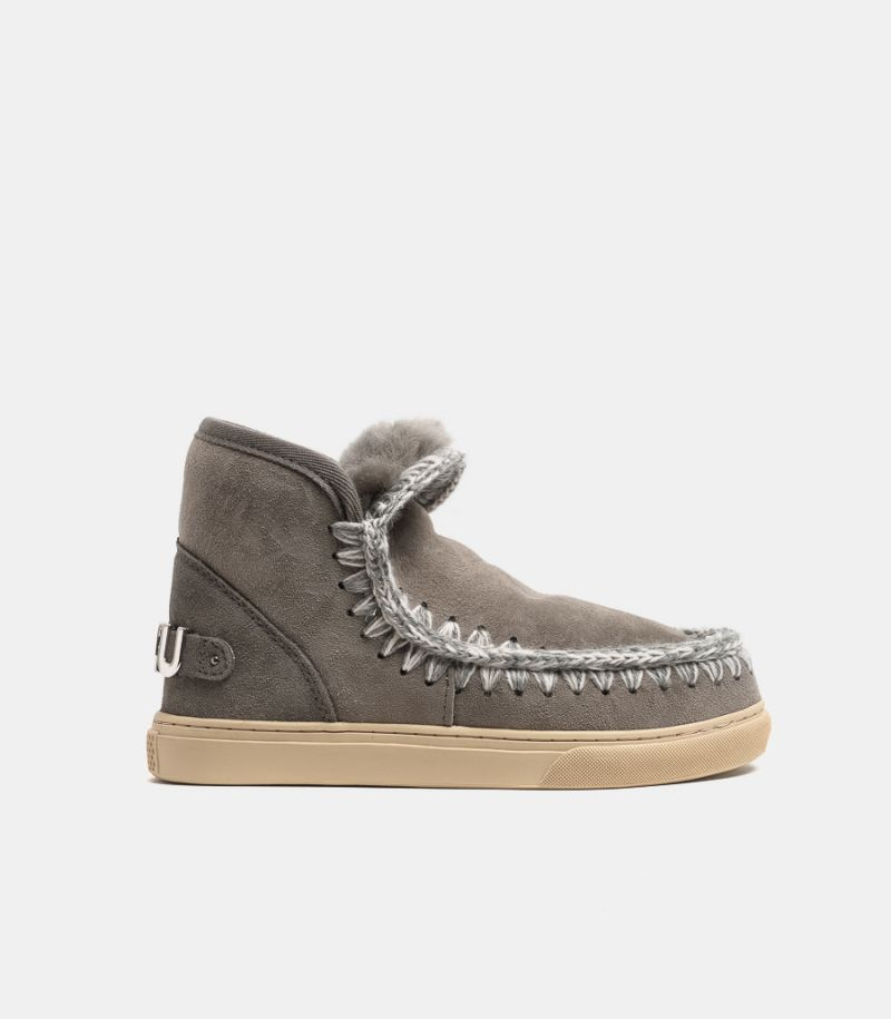 Women's shoes Eskimo sneaker grey. MU.FW111008