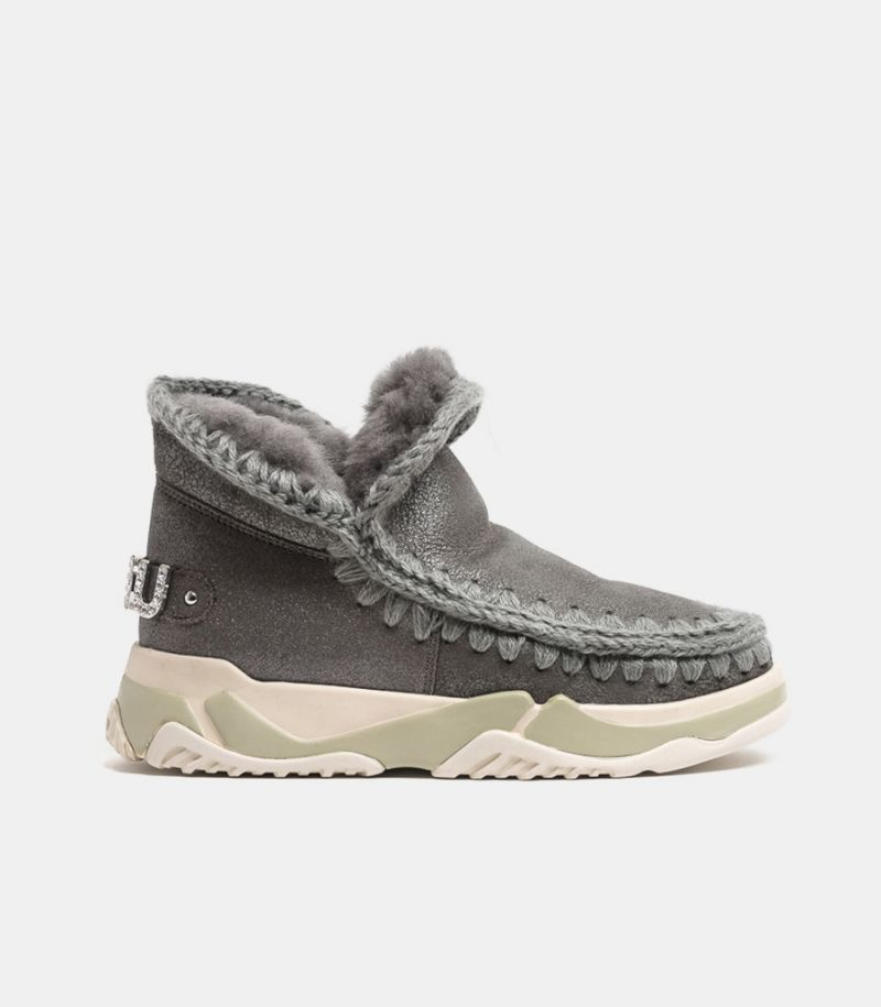Women's shoe Eskimo trainer grey. MU.FW201013B