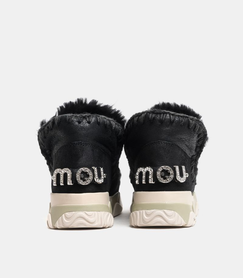 Men's shoe Eskimo trainer black. MU.FW201013B