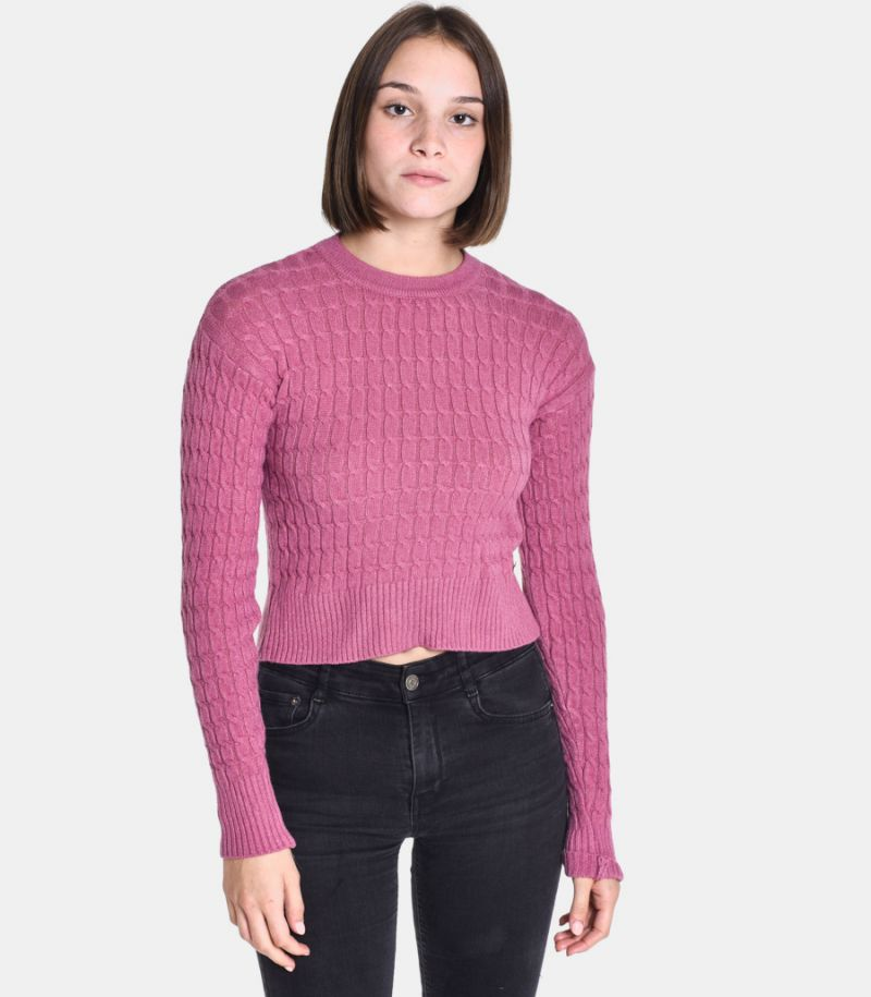 Women's braid sweater onion. M65038651