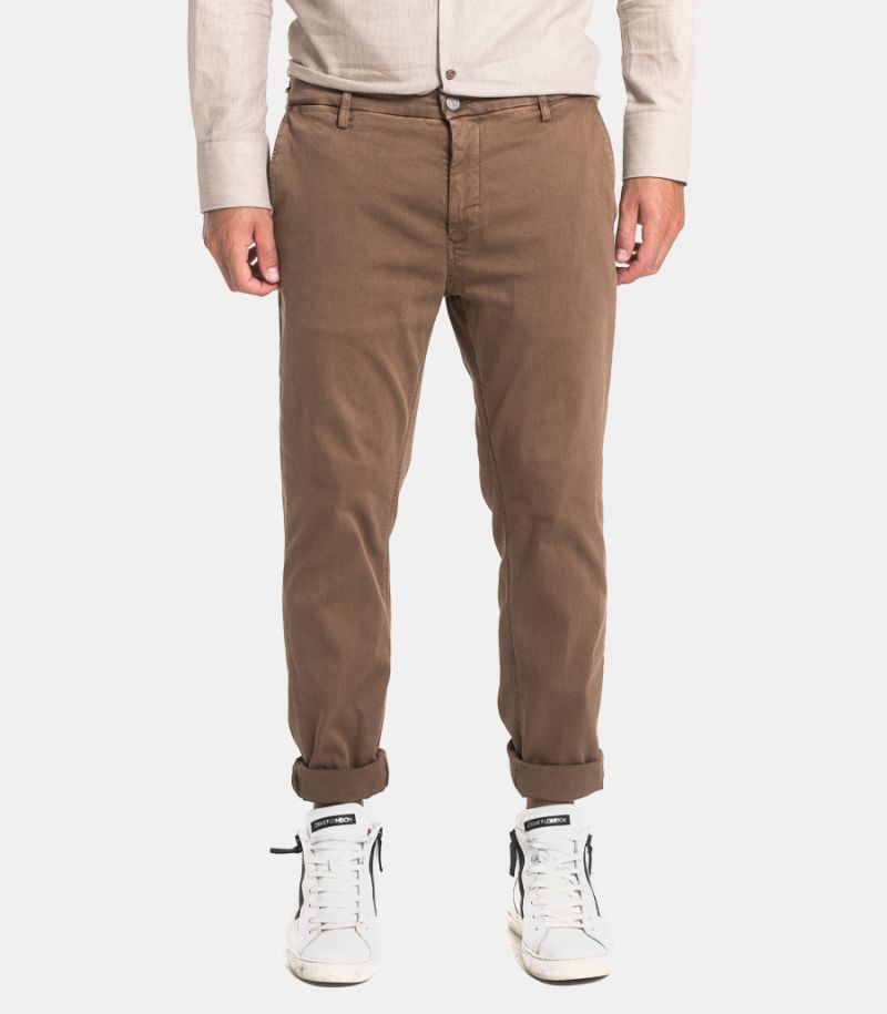 Men's hyperflex trousers mud. M9627L.030.8166197.728
