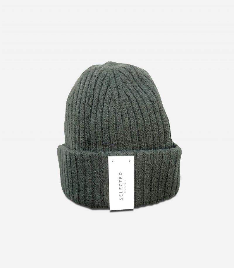 Men's wool hatflouce mini logo green. 16064168
