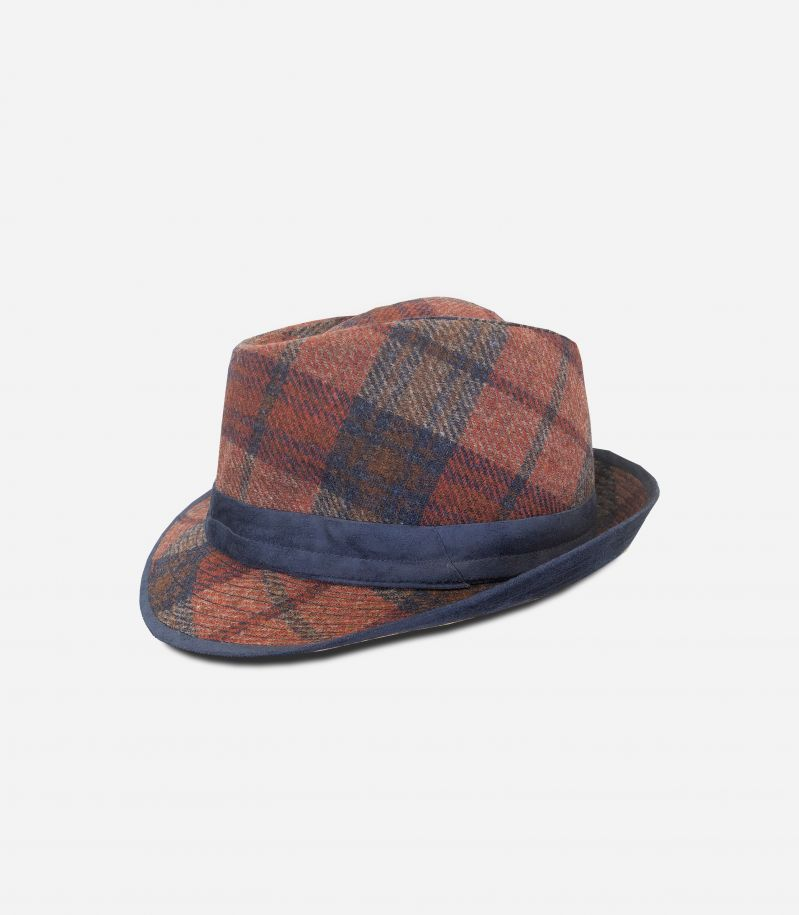 Men's Tribly wool hat bordeaux. 0900 TESS