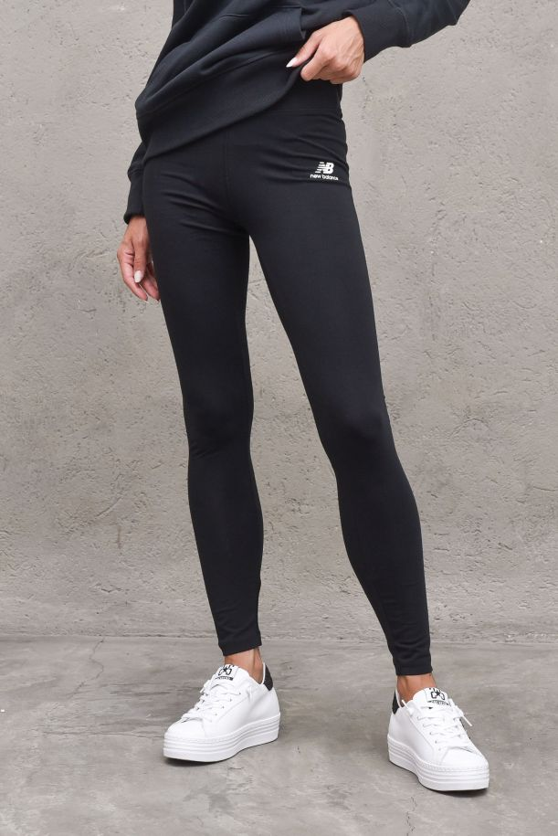 Women's leggings pants with lateral logo. WP01519BLACK
