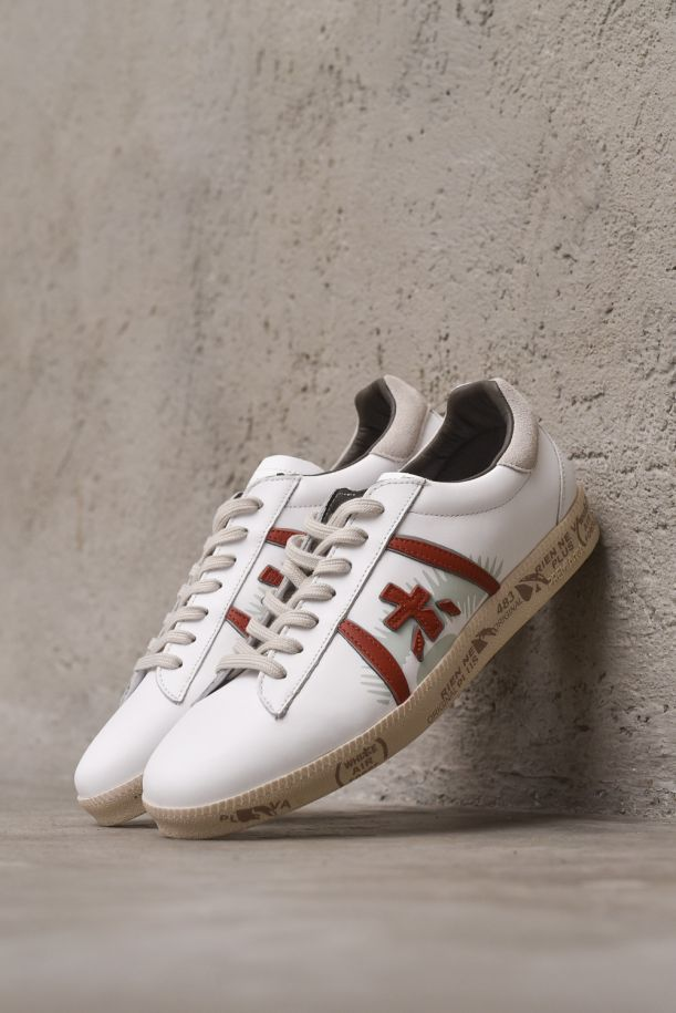 Women's sneaker shoes Andy. ANDY5424BIANCO/BORDEAUX