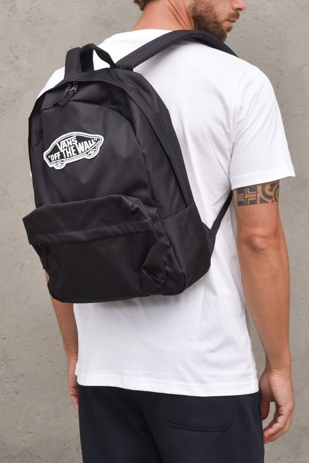 Unisex's bag with logo off the wall black. REALMVN0A3UI6BLK1BLACK
