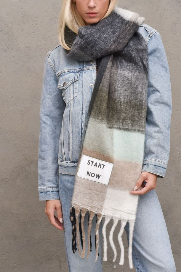 Unisex long maxi scarf Start Now. SF008MULTICOLOR
