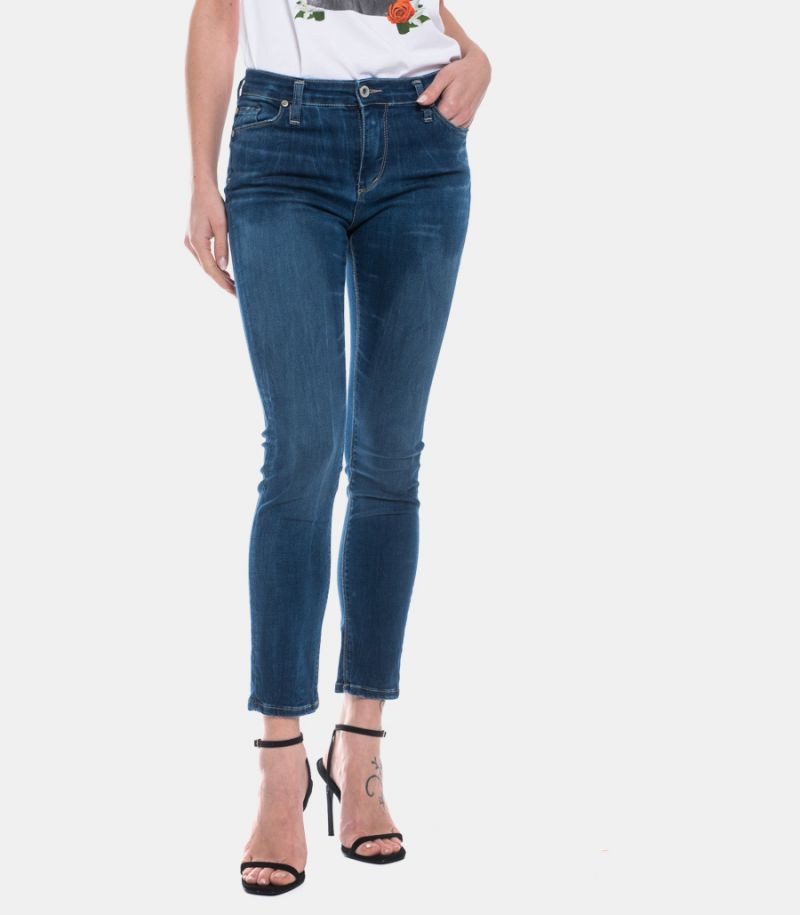 PLEASE WOMEN'S SKYY JEANS BLUE