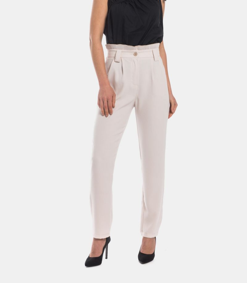 Women's plated basque trousers calla