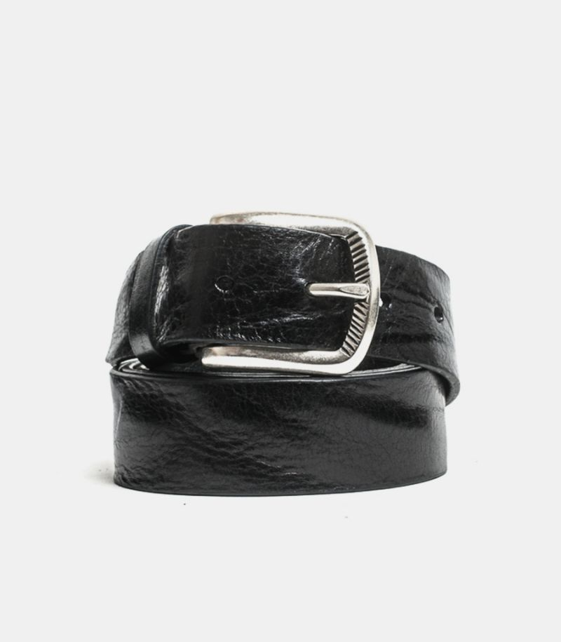 Men's basic belt black