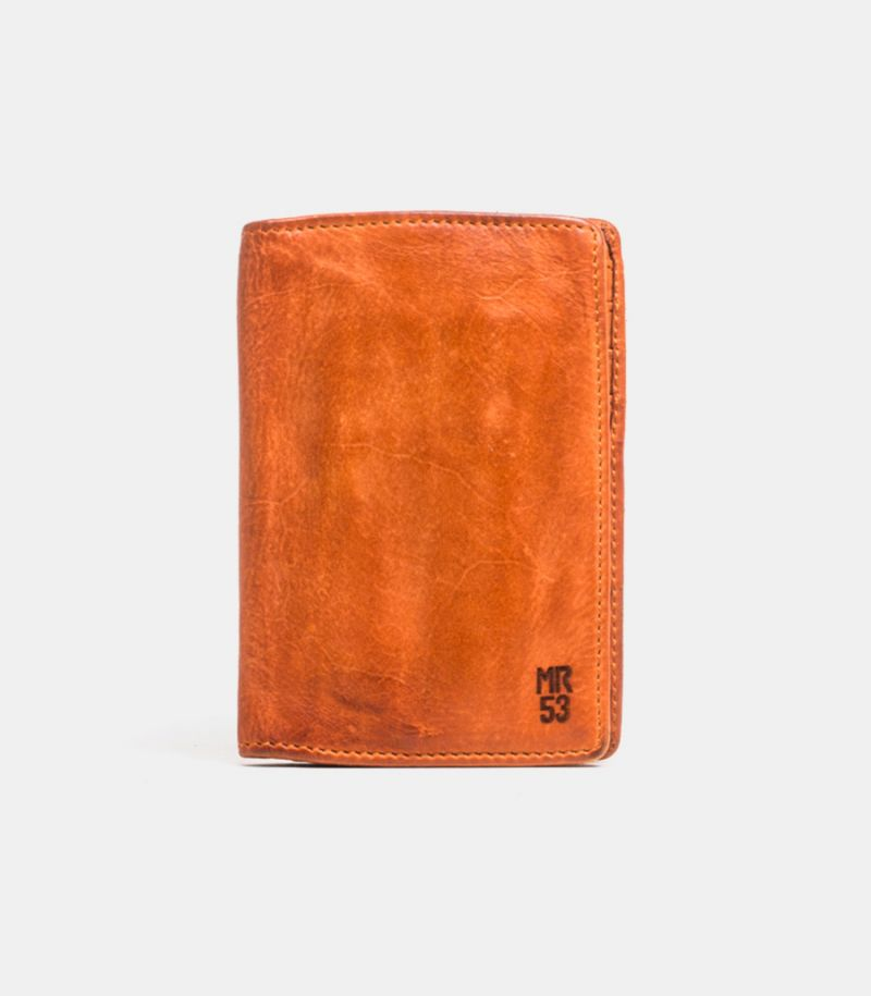 Leather wallet maple