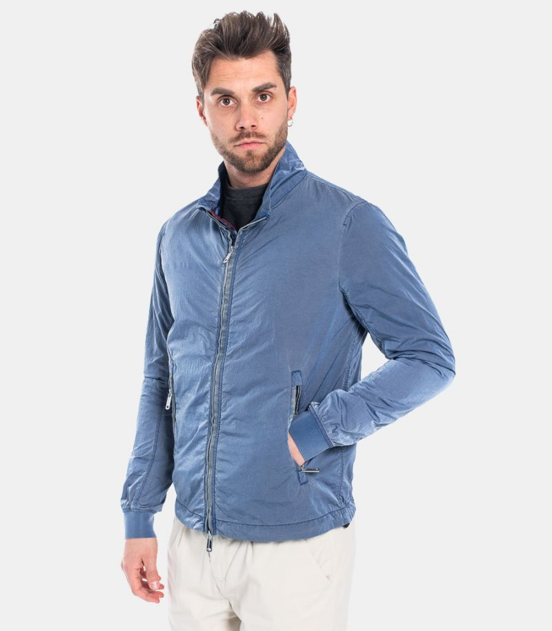 MEN'S WRINKLED TECHNICAL JACKET AVIO. LUCA1323V404AVIO