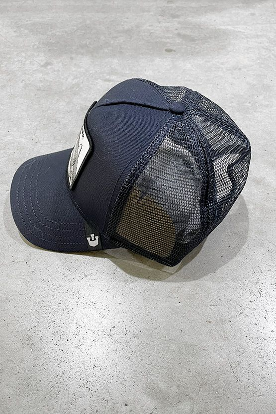 Men's Shark hat blue. 101-0332