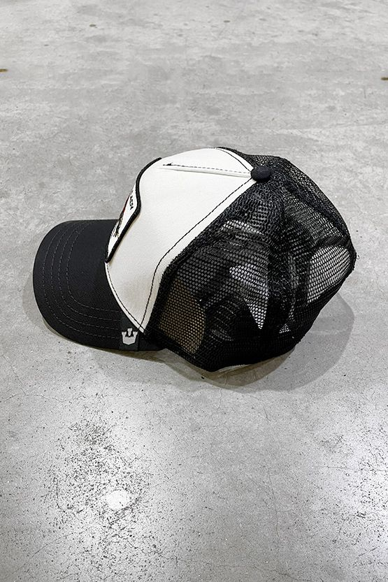 Men's hat Lady black white. 101-0571BLACK/OFF WHITE