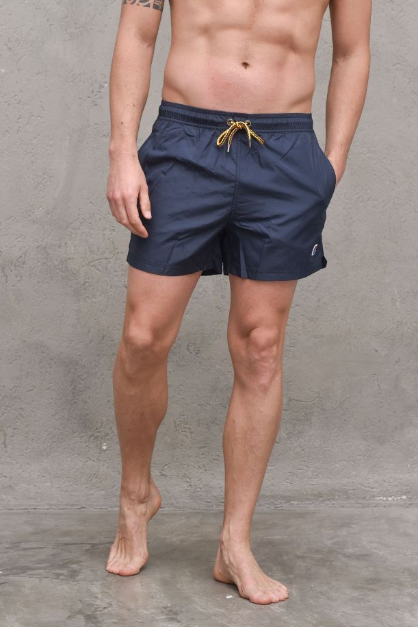 Men's boxer swimsuit blue. K0088G0HAZELBLUE DEPHT
