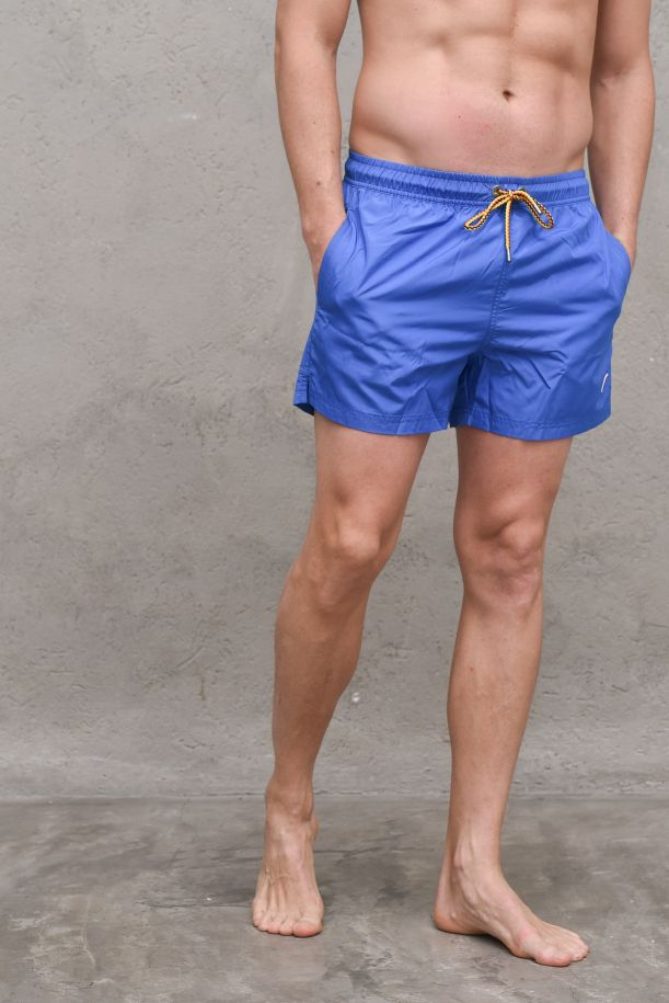 Men's boxer swimsuit royal marine. K0088G0HAZELBLU ROYAL MARINE