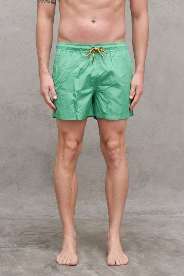 Men's boxer swimsuit green kelly. K0088G0HAZELGREEN KELLY