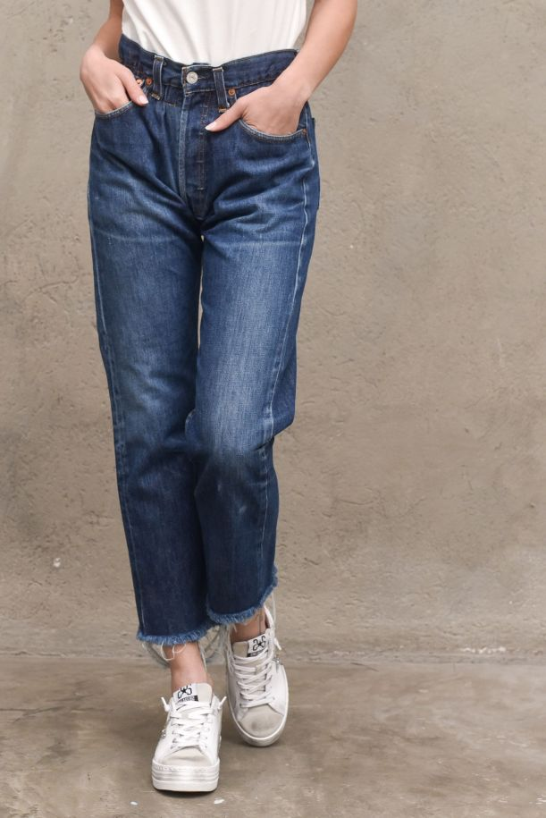 Women's highwaisted trousers jeans with studs. BOULDERDENIM