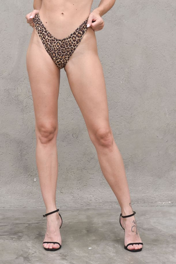 Women's high waisted swumsuit Amelie maculate. EM2090MACULATO