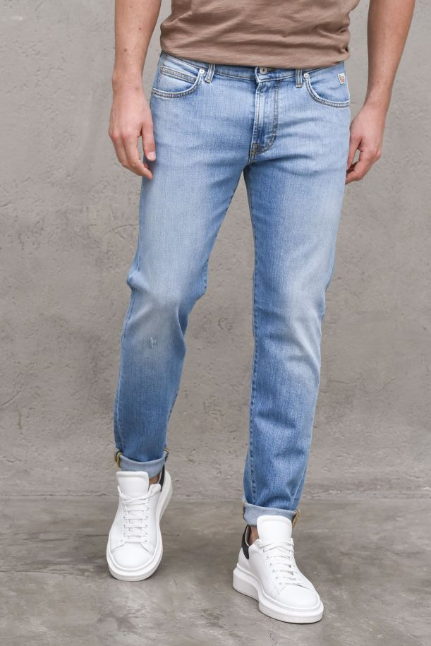 Men's trousers jeans Traminer light blue. 517 TRAMINERP21RRU075D4131610DENIM STRETCH