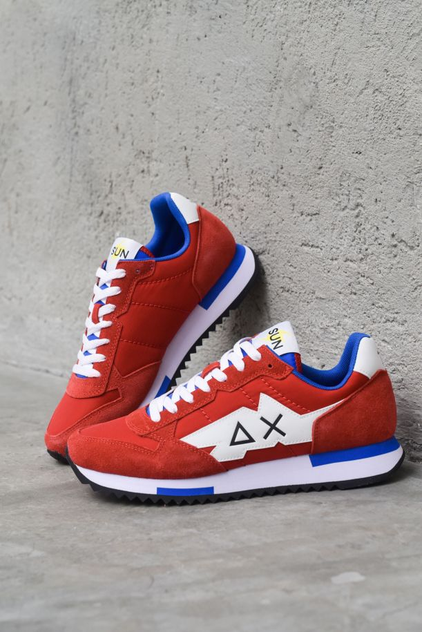 Men's running shoes Miki Solid red. Z31118ROSSO