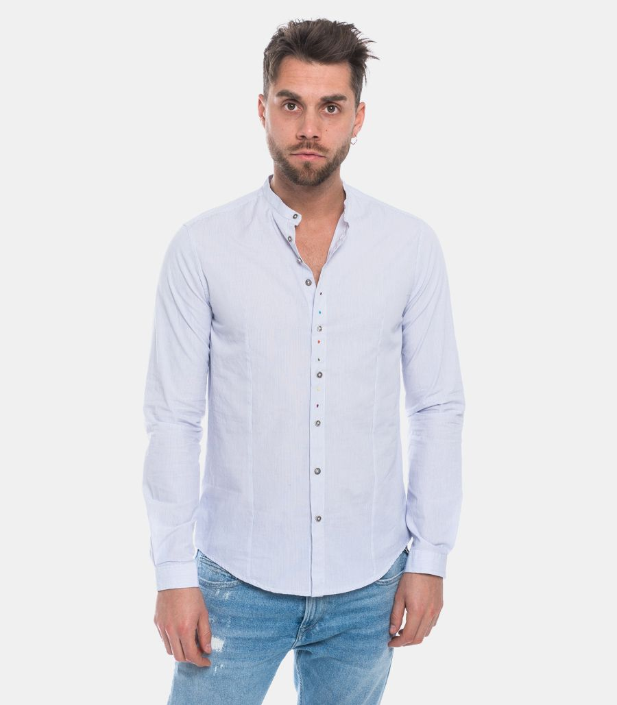 IMPERIAL MEN'S SHIRT WITH MICRO STRIPES