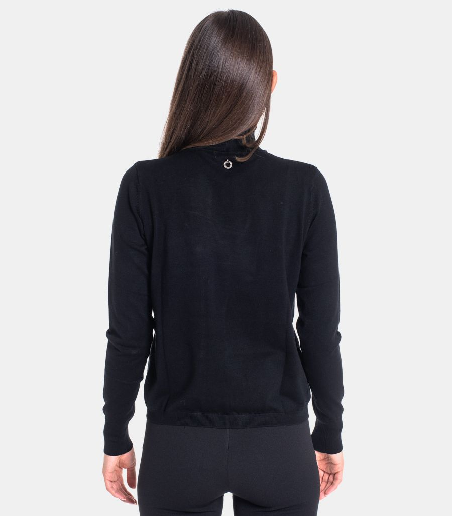 Women's Cirals sweater black. RDA2002054006