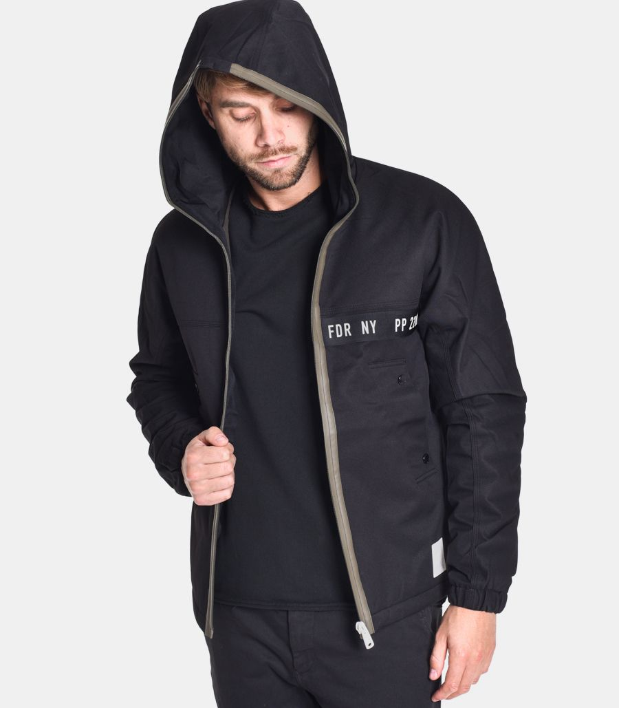 Men's hooded jacket limited edition. M8124000S83936