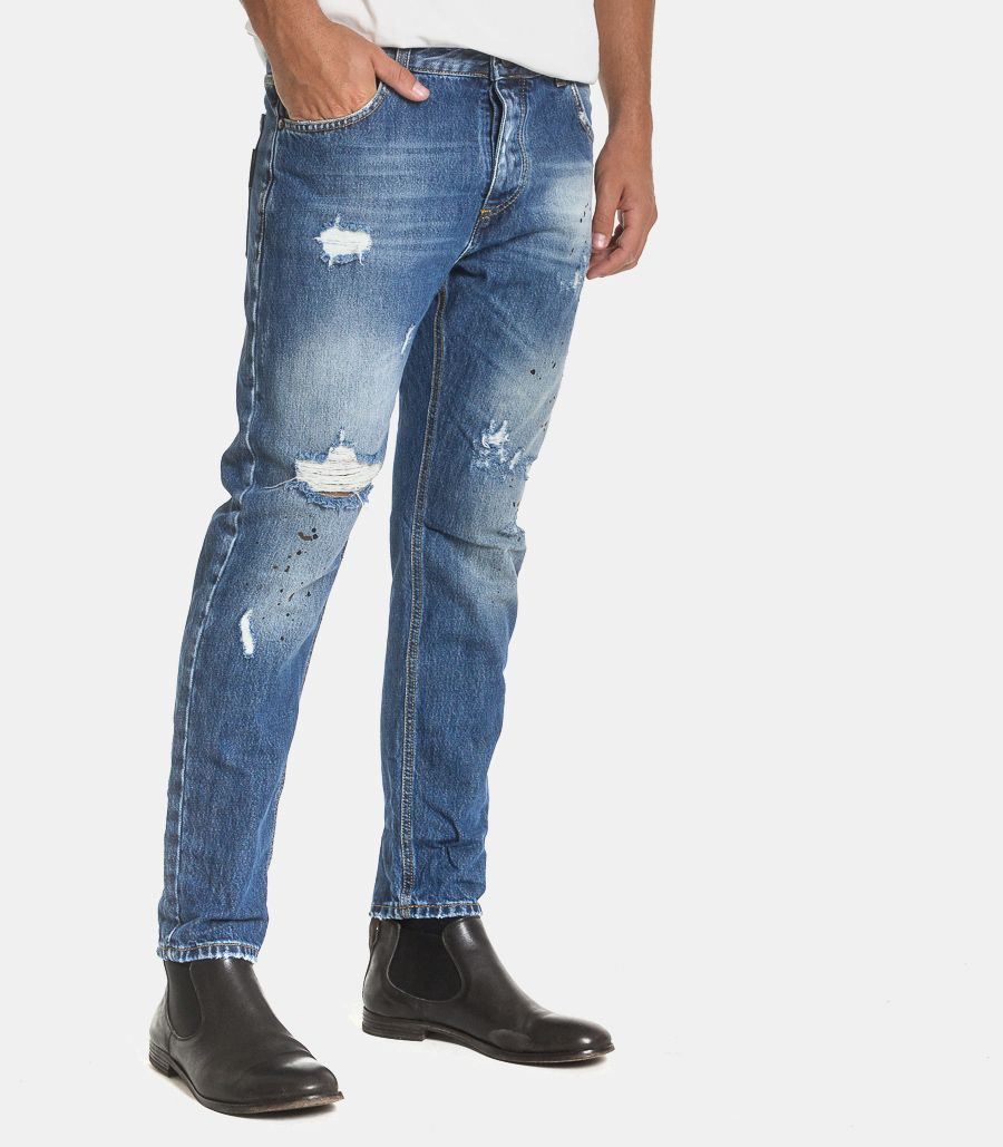 Men's Boston jeans blu. JEA51