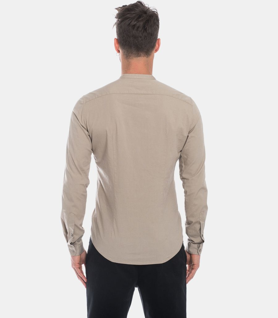 IMPERIAL MEN'S KOREAN SHIRT WITH PATCH MUD