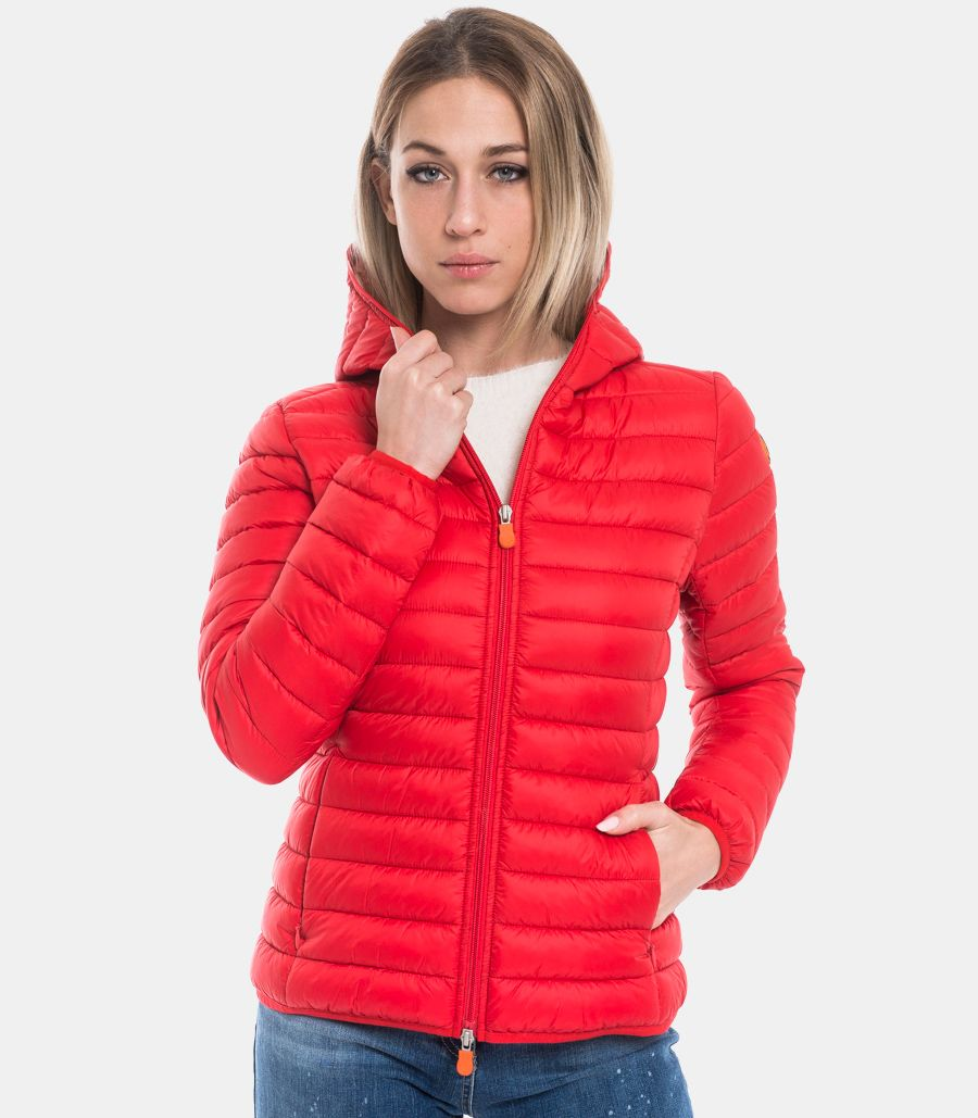 SAVE THE DUCK WOMEN'S DOWN JACKET GIGA X RED