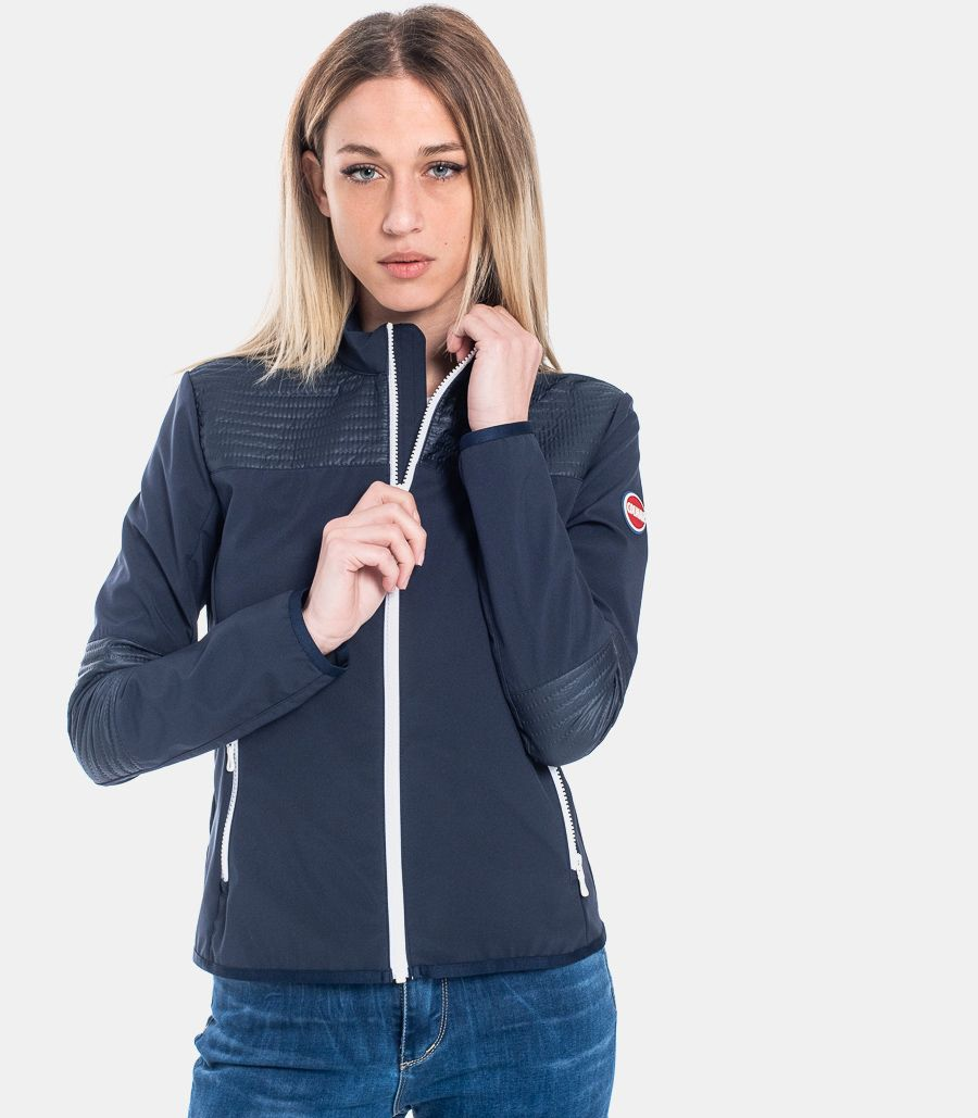 WOMEN'S REINFORCEMENTS JACKET BLUE