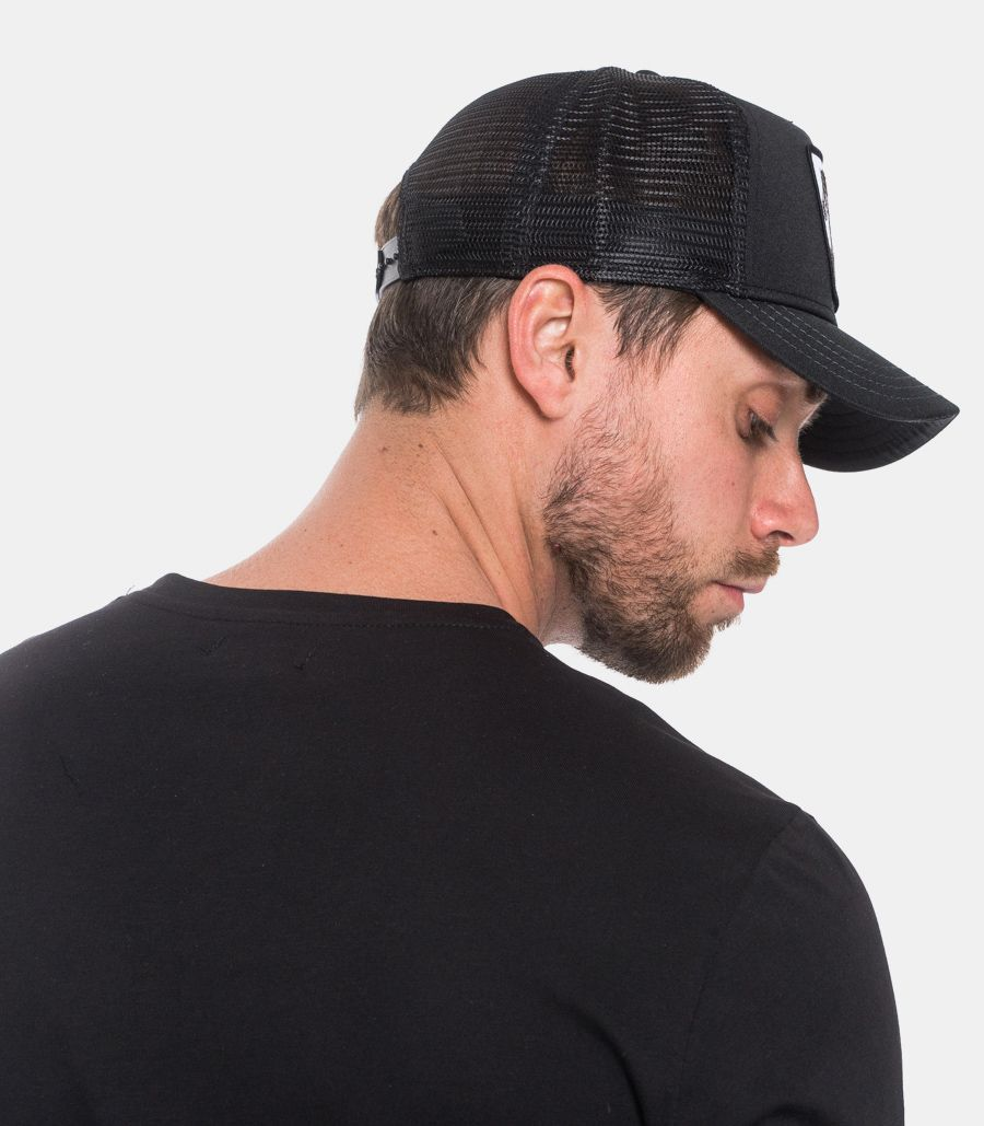 Men's beauty horse hat black