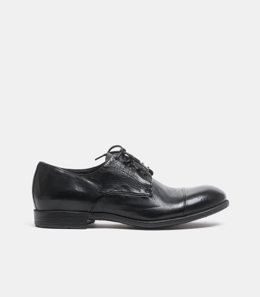 MEN'S LOW FRENCH SHOE BLACK