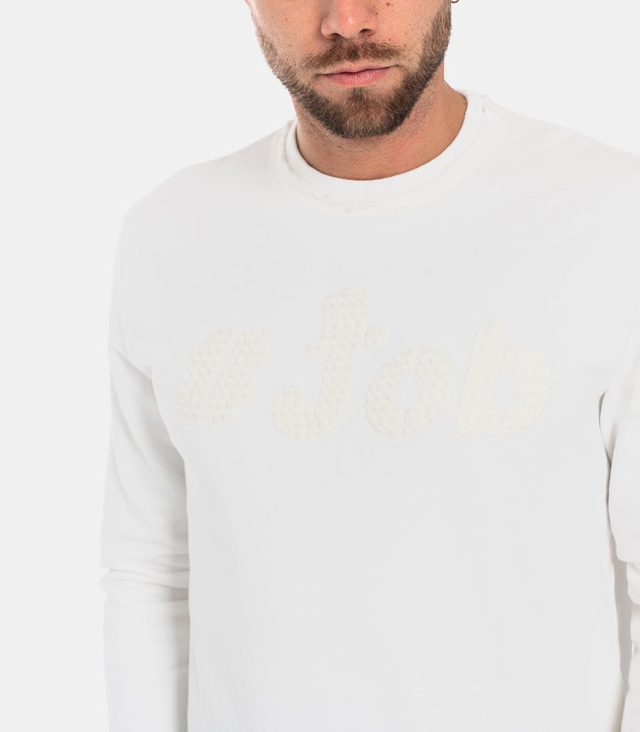 MEN'S LOGO SWEATSHIRT WHITE