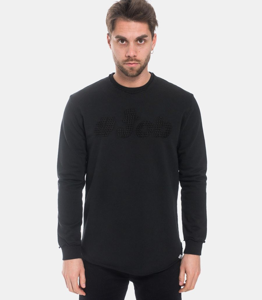 Men's logo sweatshirt black