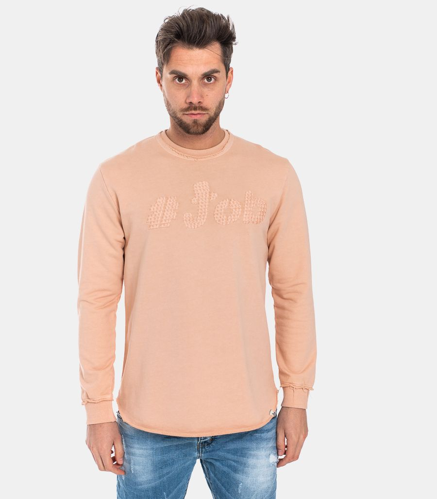 MEN'S LOGO SWEATSHIRT PINK