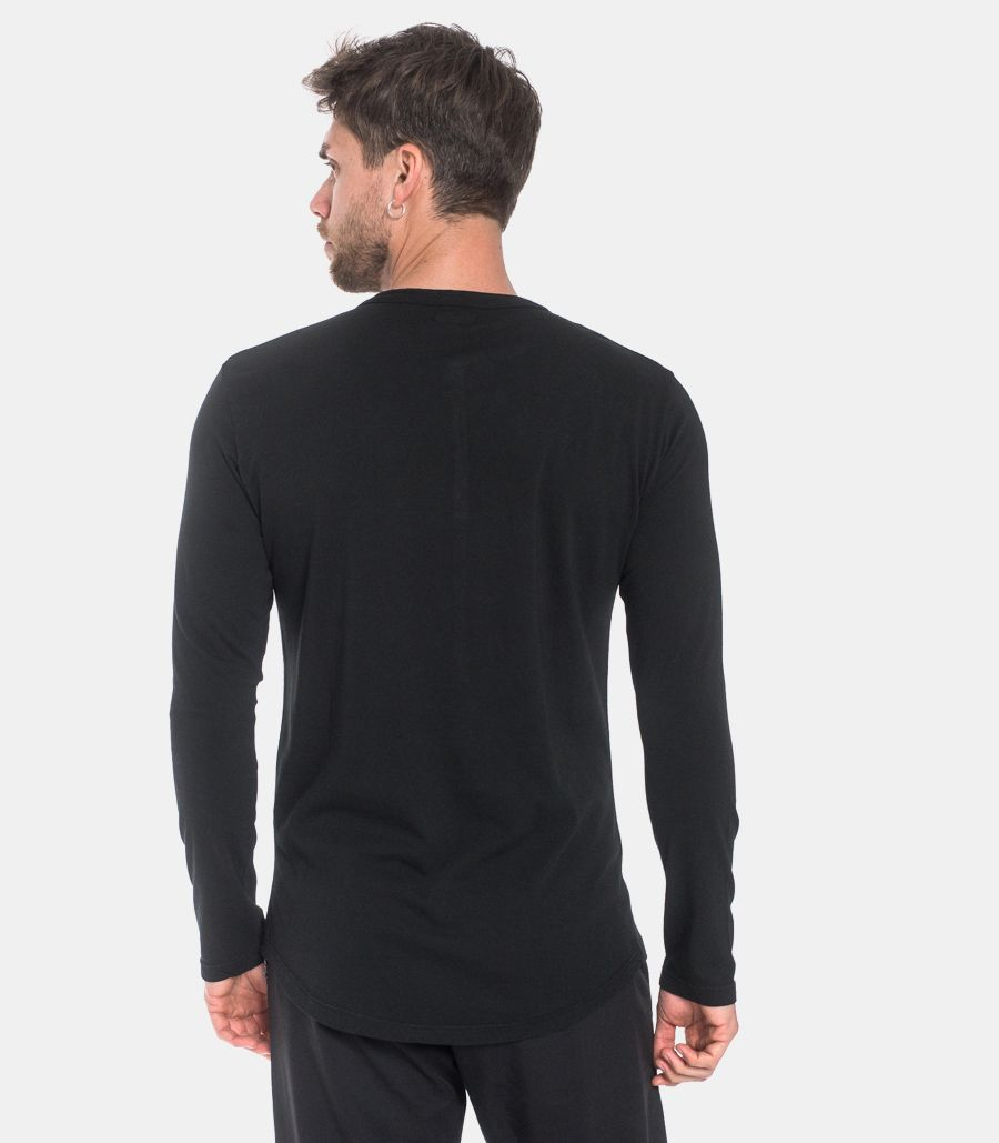 Men's seraph long sleeve t-shirt black