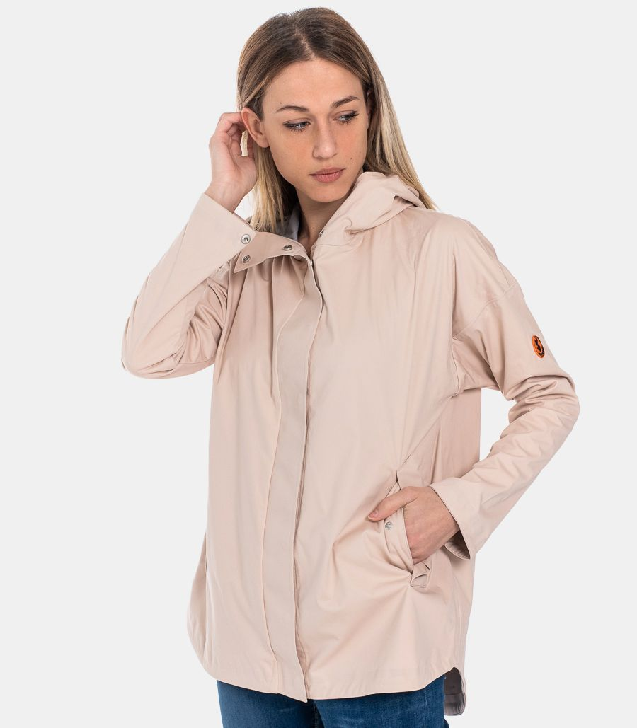 WOMEN'S TECHNICAL HOODY JACKET PINK
